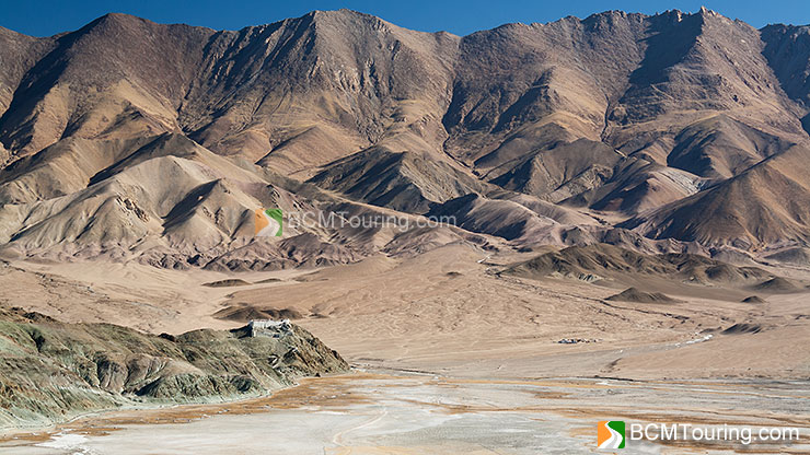 View from Hanle Observatory, with Hanle Monastery in distance