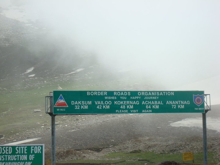 National Highway 1b Alternative Route From Srinagar To