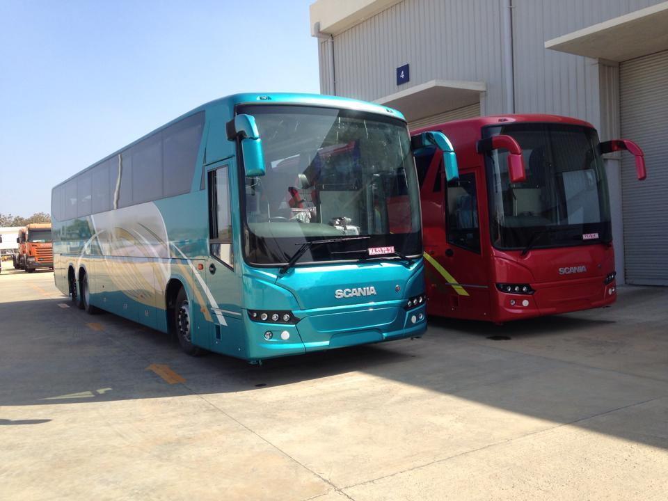 Siddhivinayak Logistics gets first Scania Metrolink intercity ...