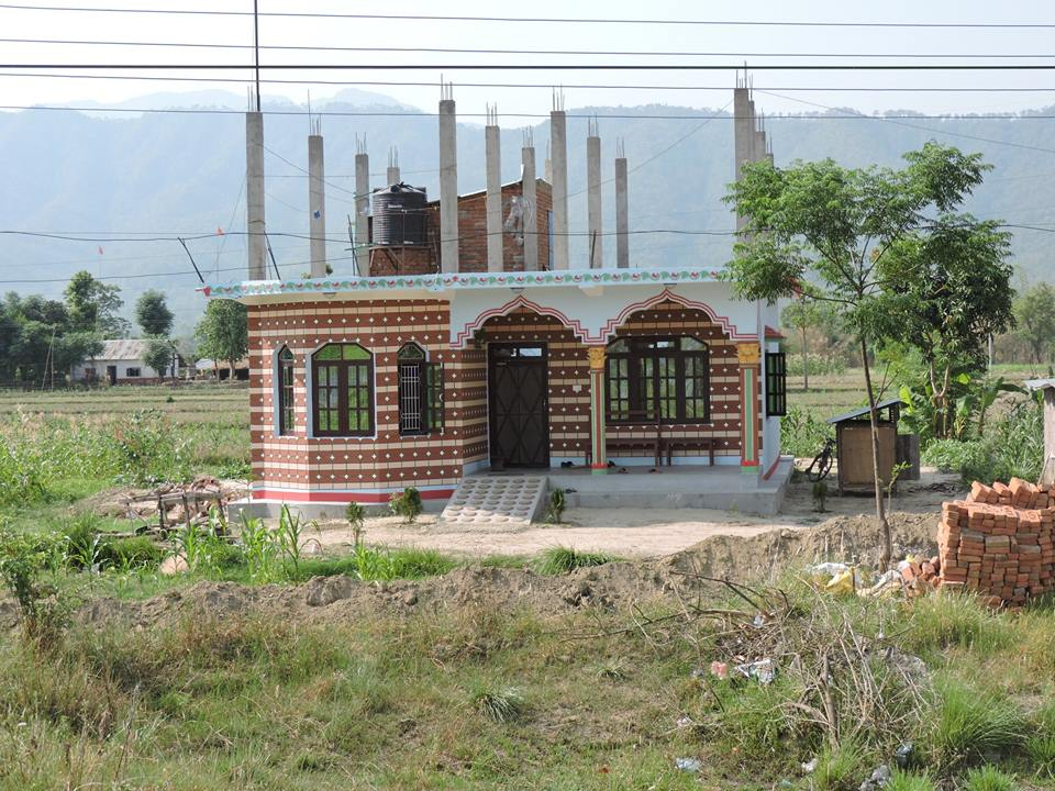 Simple home design nepal for Small house design in nepal