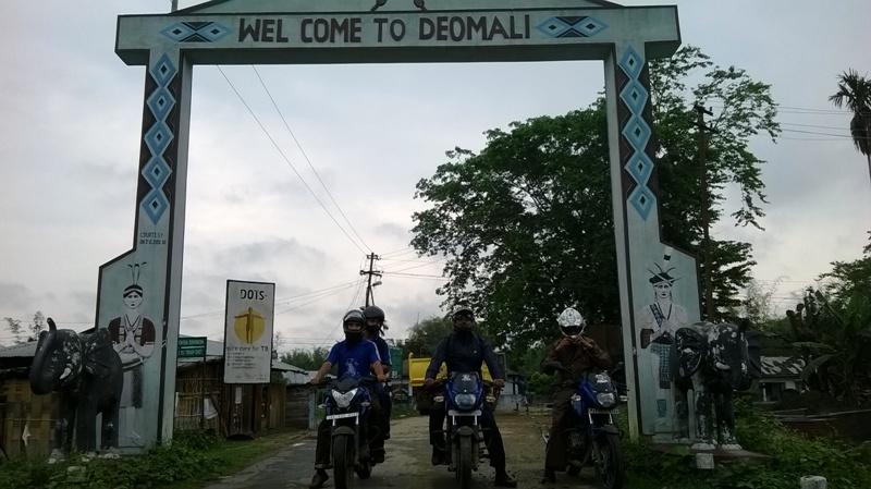 Bikers of Assam in Deomali Arunachal Pradesh.jpg
