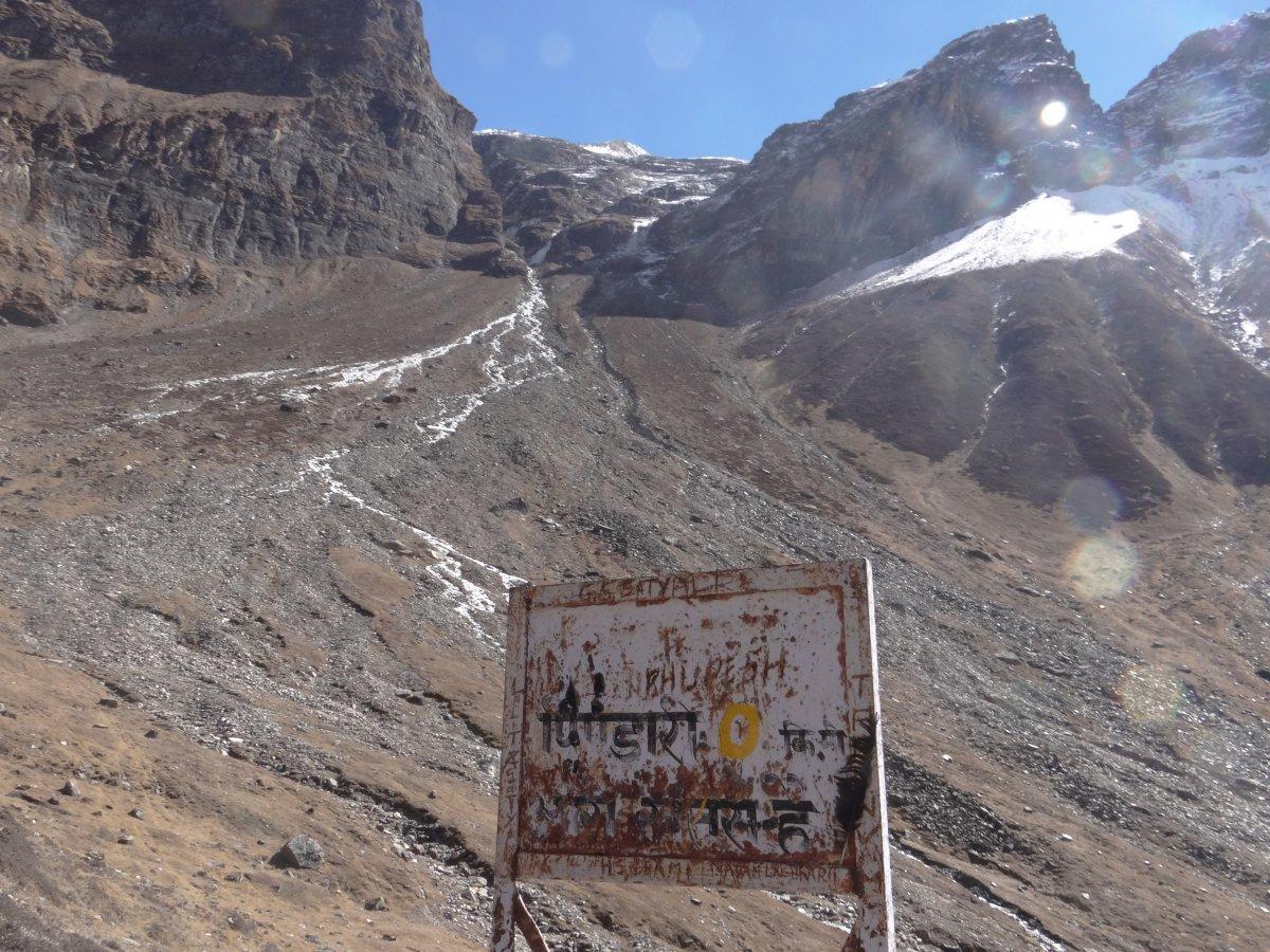 Solo ride and trek to Pindari - Diwali 2016 | India Travel