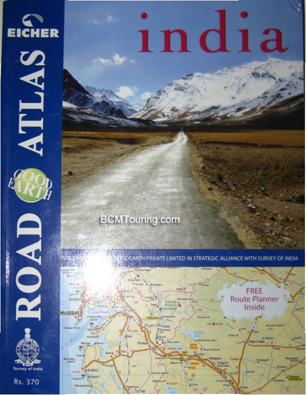 Eicher India Road Atlas | India Travel Forum, BCMTouring