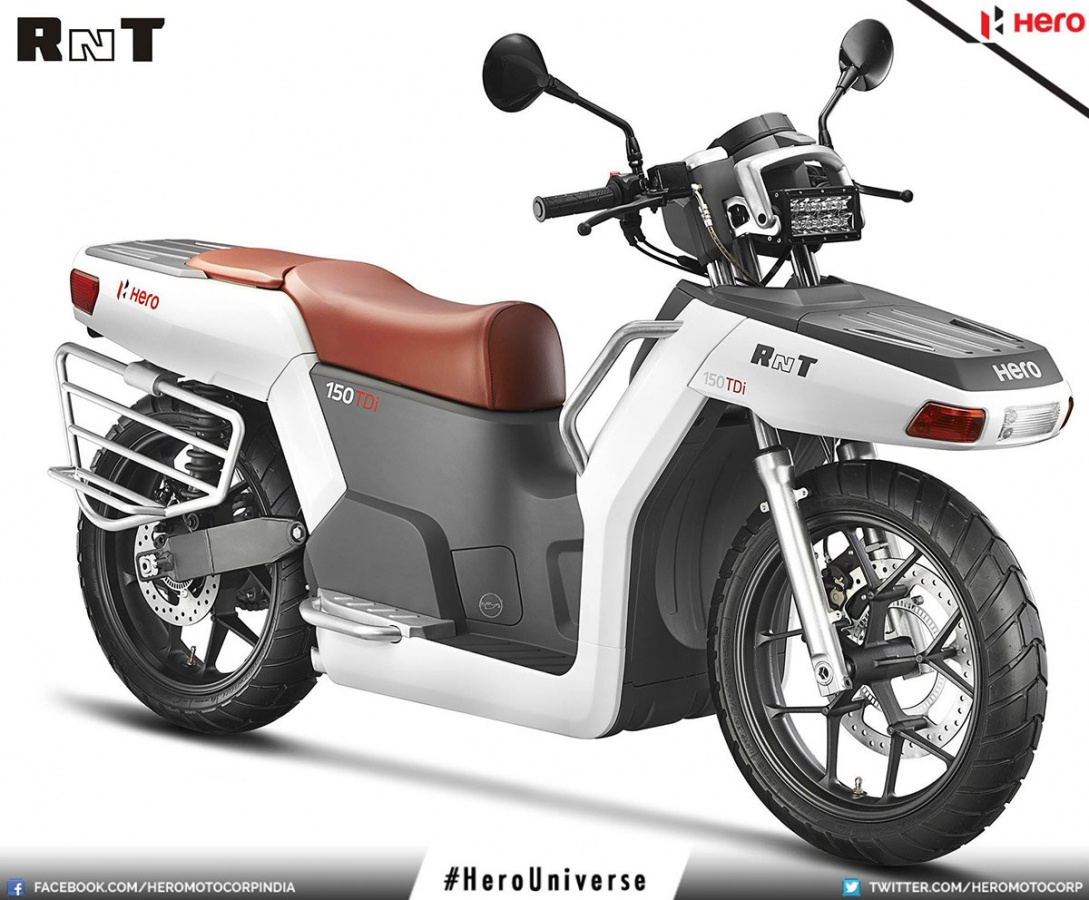 Hero RNT TDi Diesel Concept Bike | India Travel Forum