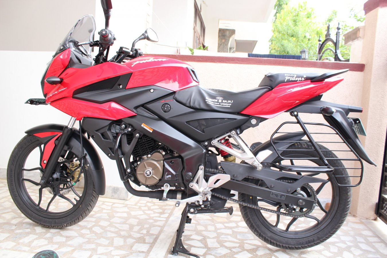 My All New Pulsar 150as Adventure Sport India Travel