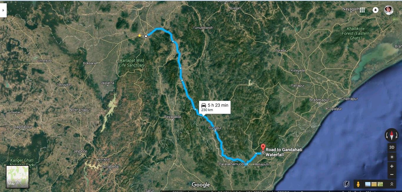 Map to Gandahati waterfall.jpg
