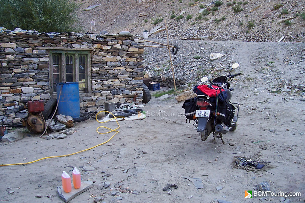 Puncture Repair and Mechanic shops in Ladakh | India Travel