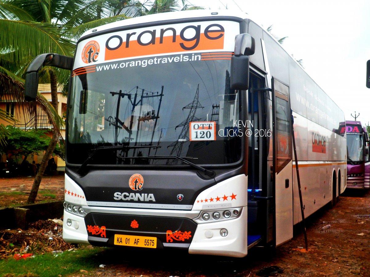 Orange Tours Travels Ac Sleeper