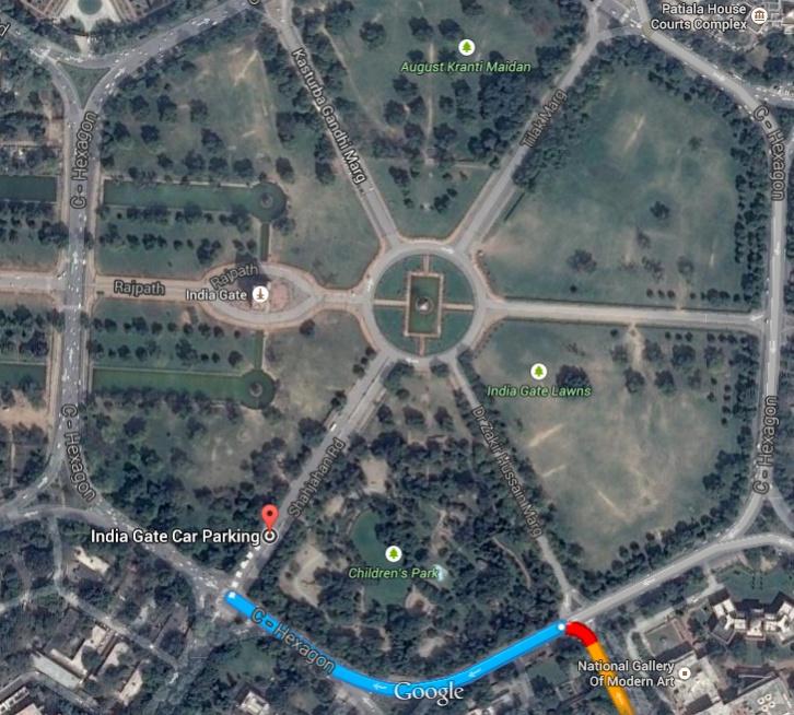 Car Parking Near India Gate India Travel Forum Bcmtouring