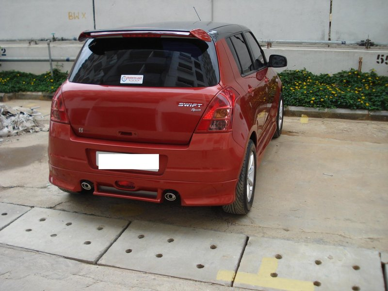 My Modded Swift with Body Kits and Bumpers   Page 4   India Travel