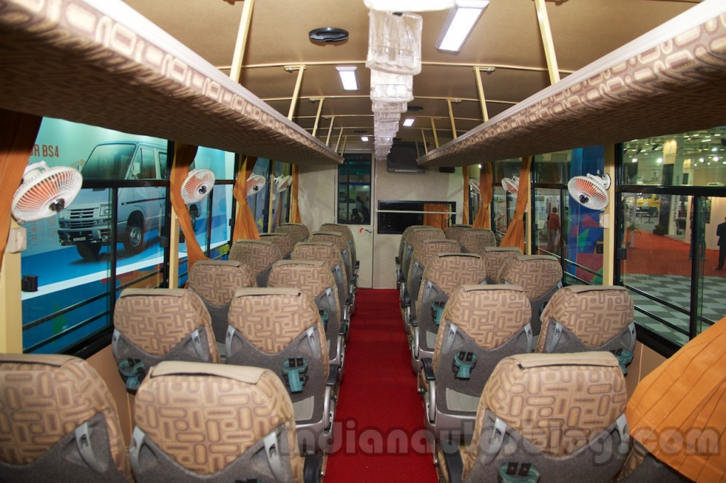 TATA DAEWOO  |Tata Prima Bus Interior