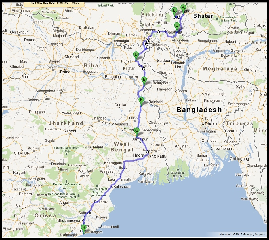 Puri Canal Road Bhubaneswar: East By North-East - Purple Cheetah's Latest Tryst!