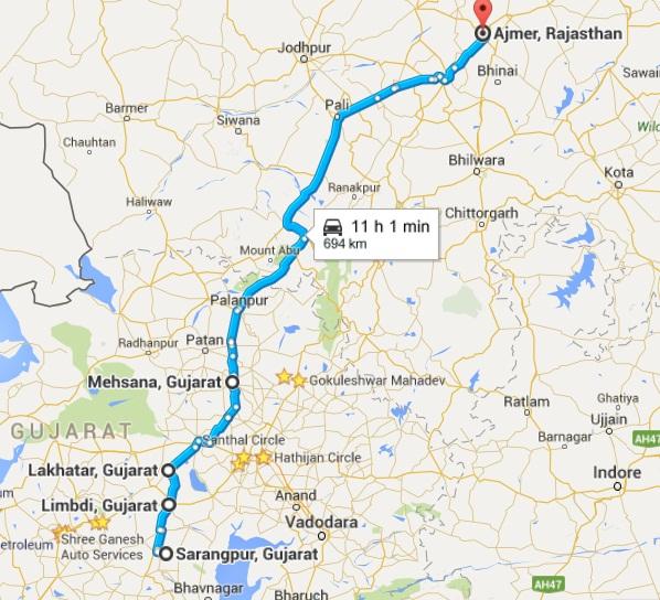 Life At International Border Page India Travel Forum - Beawar map