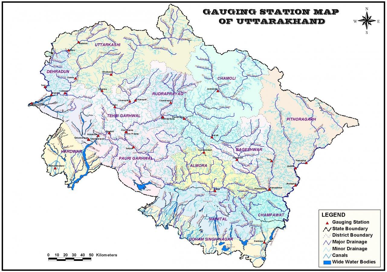 Uttaranchal river gauge map.jpg