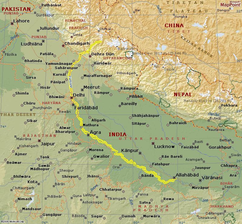 Ganga Jamuna Saraswati Sangam Ma