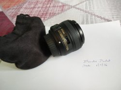 WTS- Nikon D5100+18-55 with lowpro bag and accessories, 35mm 1 8G