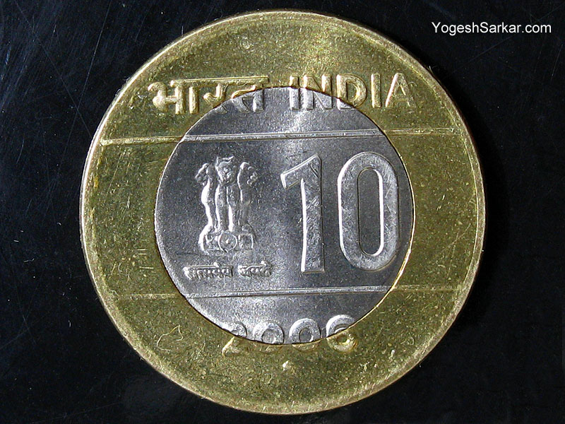Coin Of 10 Rupees