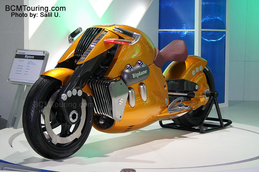 Motorcycles Gallery  Suzuki Biplane Concept Design