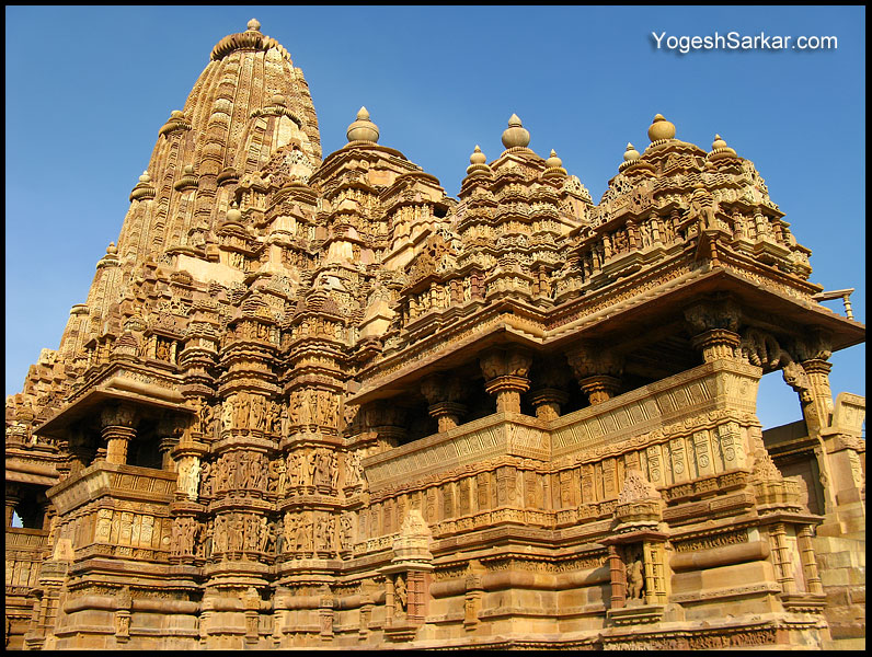 Kandariya Mahadeva is dedicated to lord Shiva and has a Shiva Linga in    Kandariya Mahadeva Temple Inside
