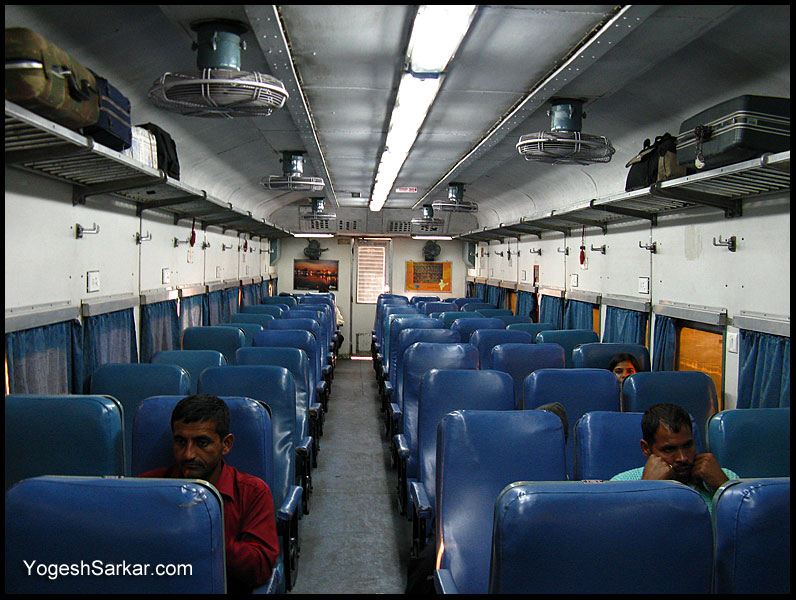 ac chair class car is found on the shatabdi express
